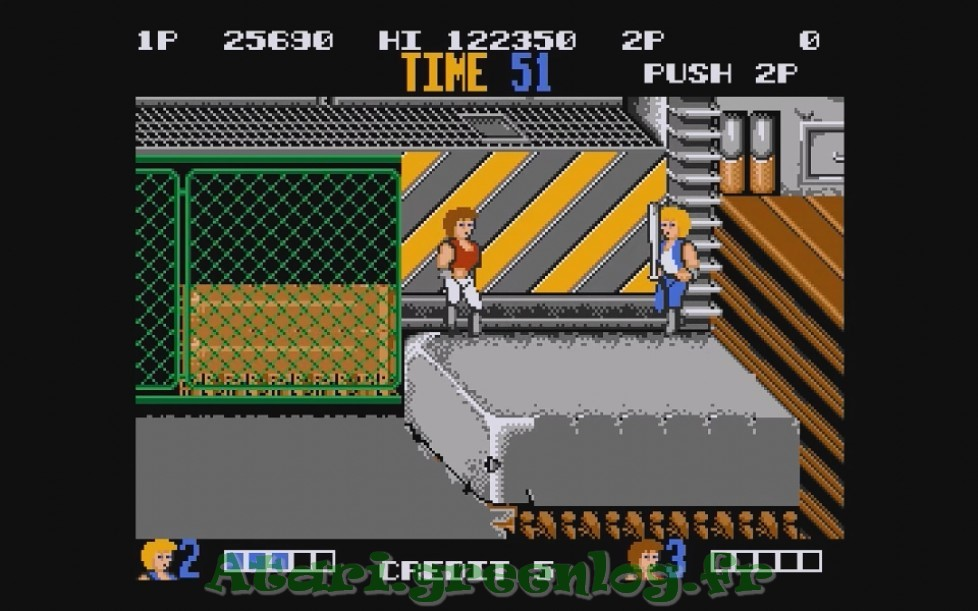 Double Dragon : Impression d'écran 9