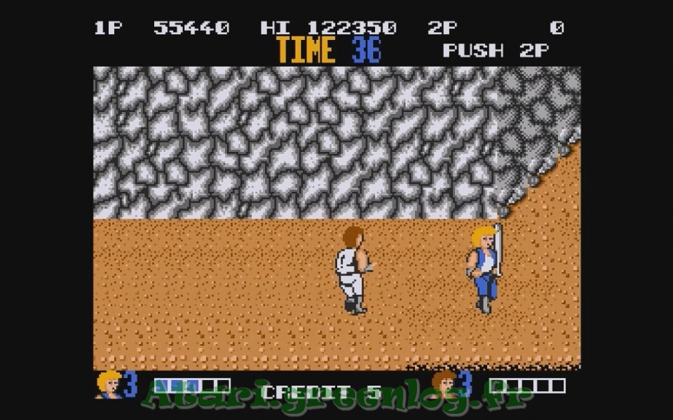 Double Dragon : Impression d'écran 14