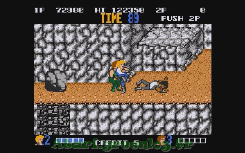 Double Dragon : Impression d'écran 19