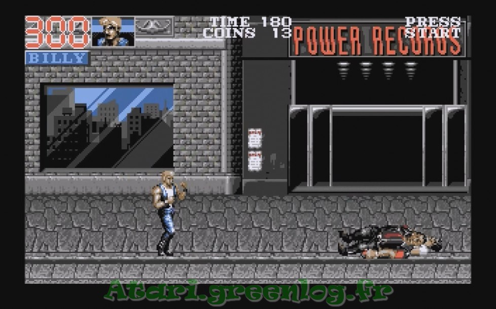 Double Dragon 3 : Impression d'écran 2