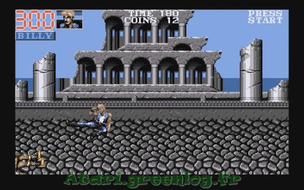 Double Dragon 3 : Impression d'écran 12