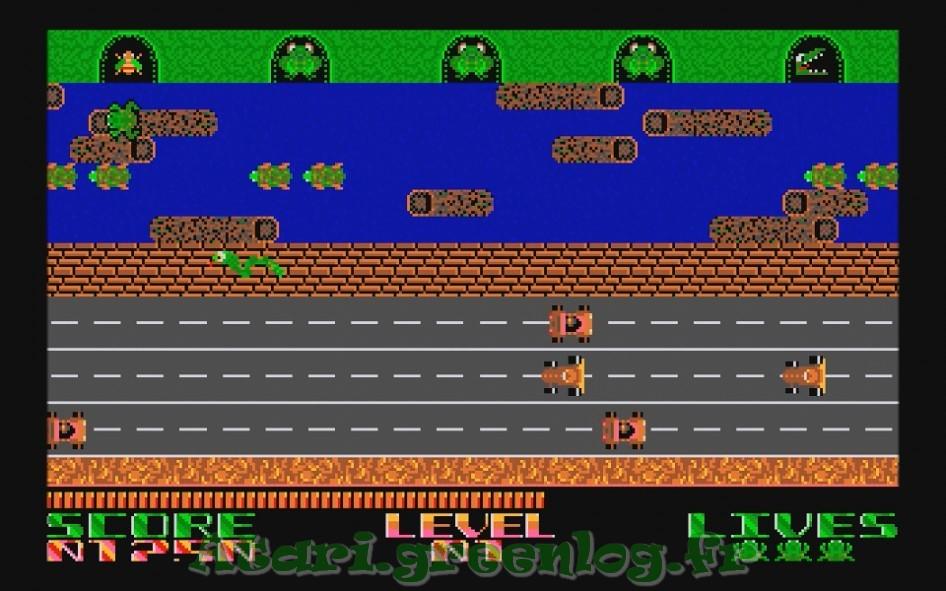 Frogger : Impression d'écran 10