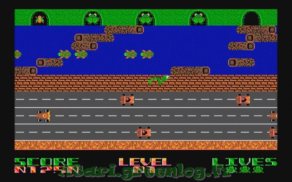 Frogger : Impression d'écran 11