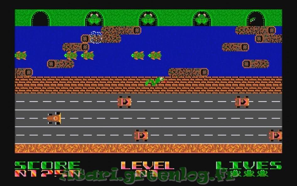 Frogger : Impression d'écran 13