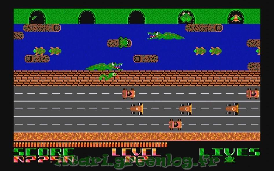 Frogger : Impression d'écran 17