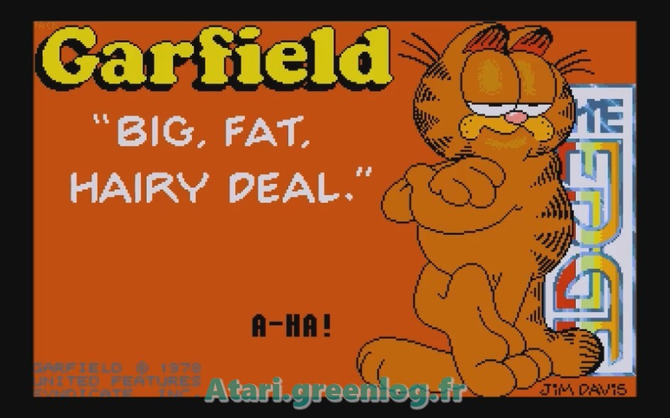 Garfield : Impression d'écran 1
