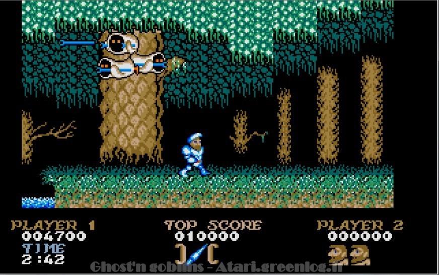 Ghosts'n Goblins : Impression d'écran 10