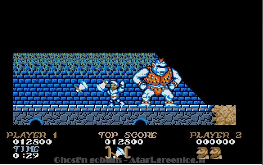 Ghosts'n Goblins : Impression d'écran 17