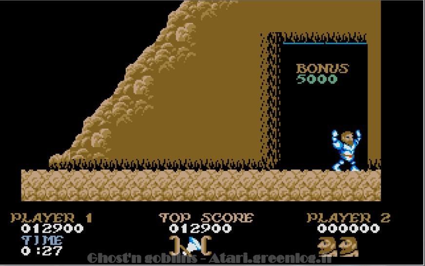 Ghosts'n Goblins : Impression d'écran 18