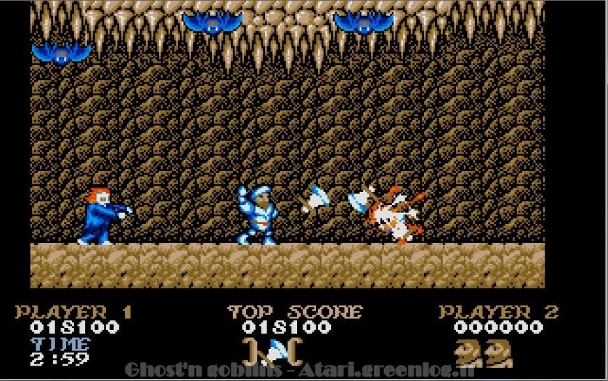 Ghosts'n Goblins : Impression d'écran 19