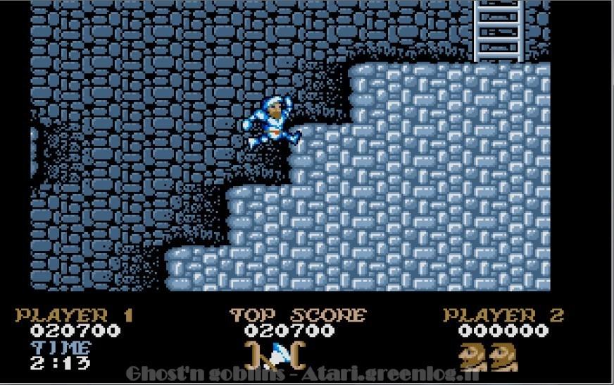 Ghosts'n Goblins : Impression d'écran 21