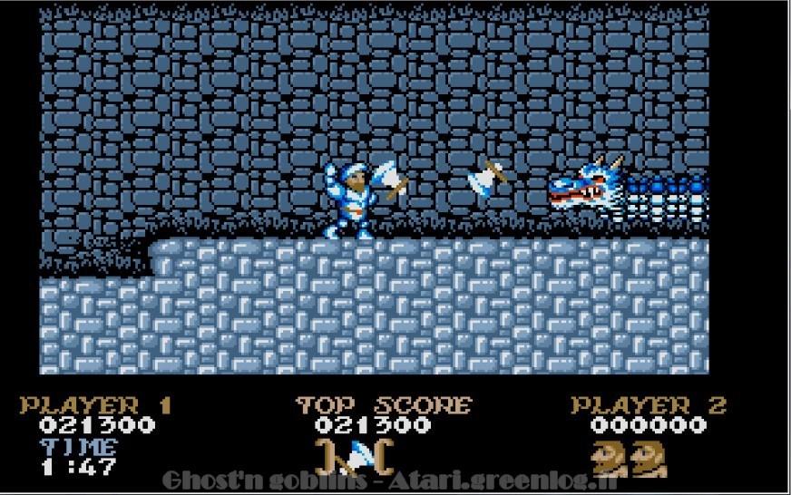 Ghosts'n Goblins : Impression d'écran 22