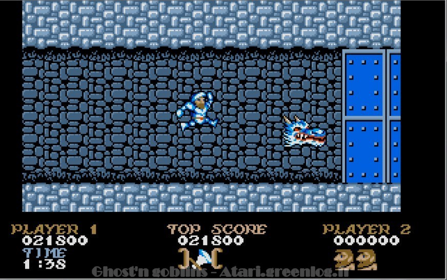 Ghosts'n Goblins : Impression d'écran 24