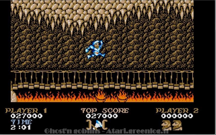 Ghosts'n Goblins : Impression d'écran 27
