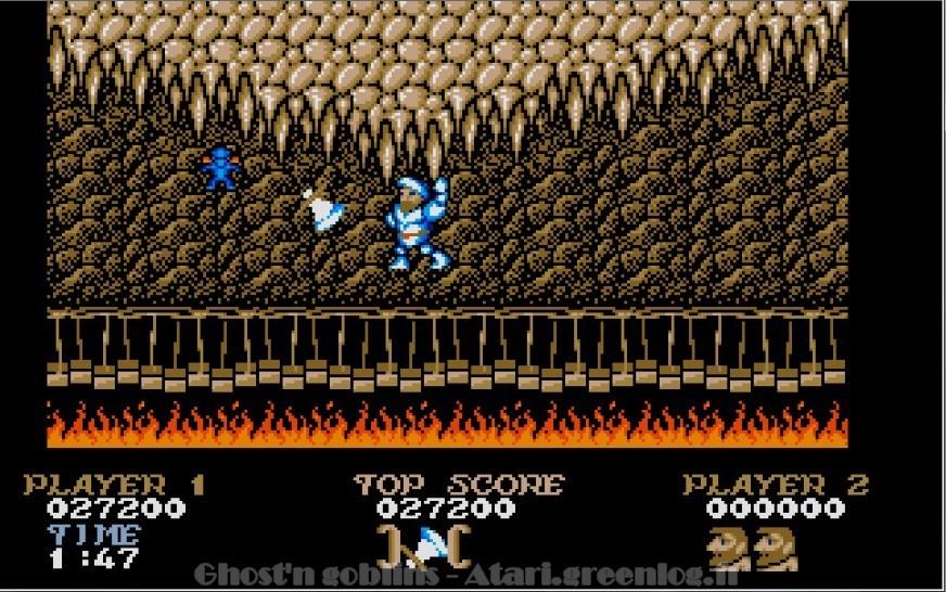 Ghosts'n Goblins : Impression d'écran 28