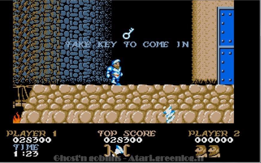 Ghosts'n Goblins : Impression d'écran 30