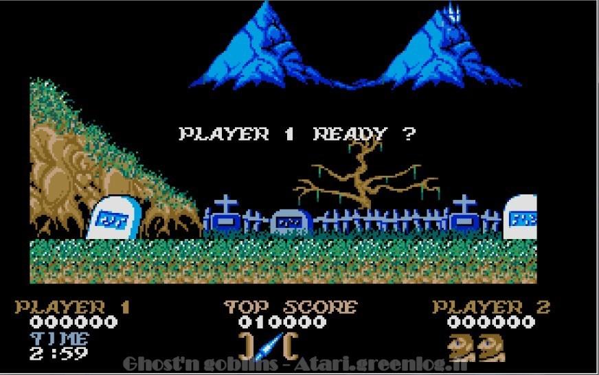 Ghosts'n Goblins : Impression d'écran 4