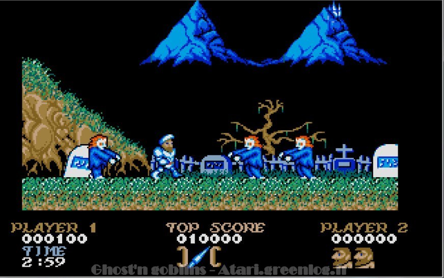 Ghosts'n Goblins : Impression d'écran 5