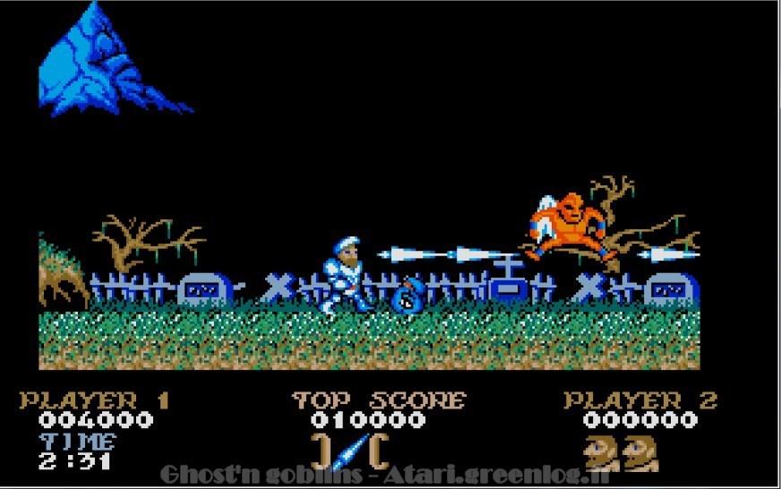Ghosts'n Goblins : Impression d'écran 6