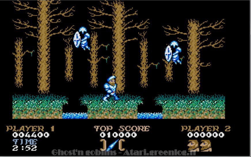 Ghosts'n Goblins : Impression d'écran 9