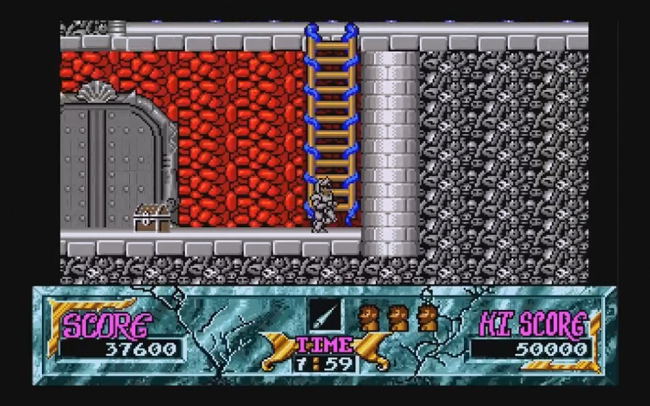 Ghouls and Ghosts : Impression d'écran 19