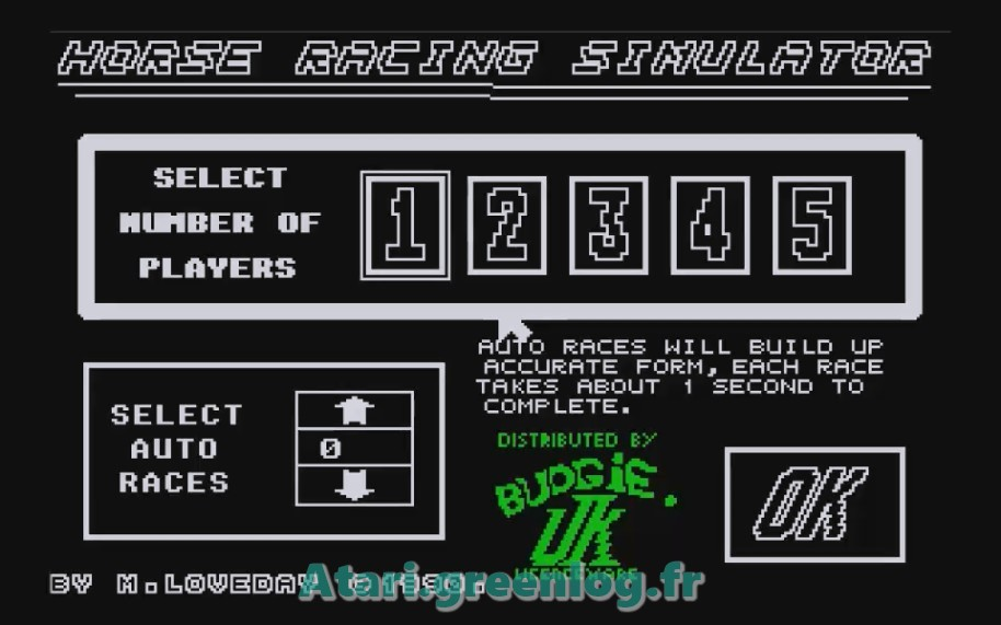 Horse Racung Simulator