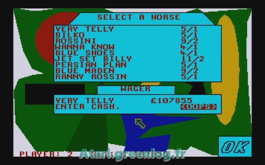 Horse Racung Simulator : Impression d'écran 18