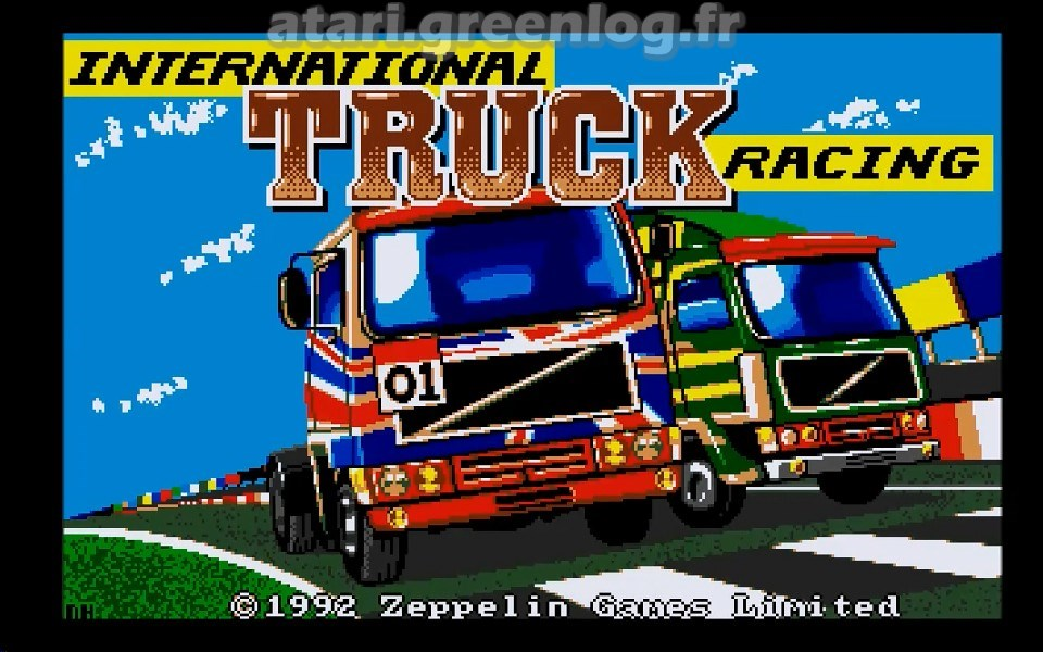 International Truck Racing