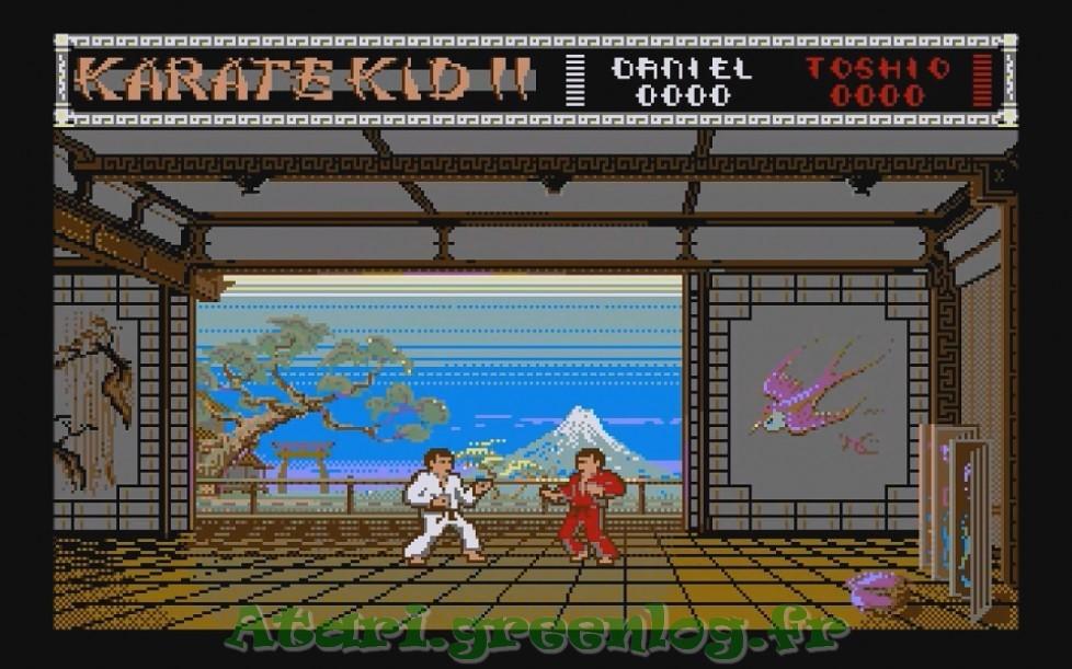 Karate Kid Part 2 : Impression d'écran 3