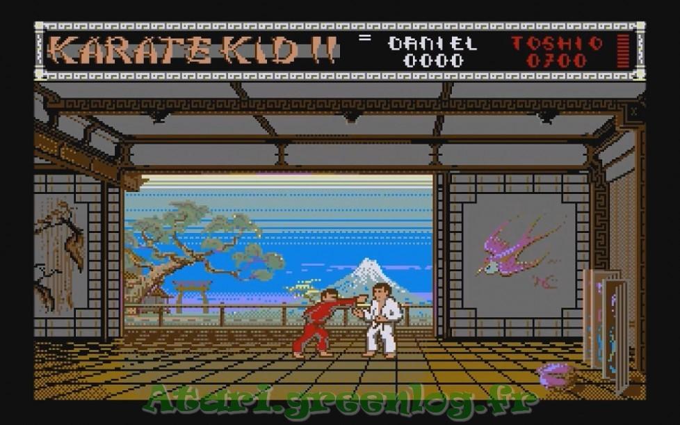 Karate Kid Part 2 : Impression d'écran 4