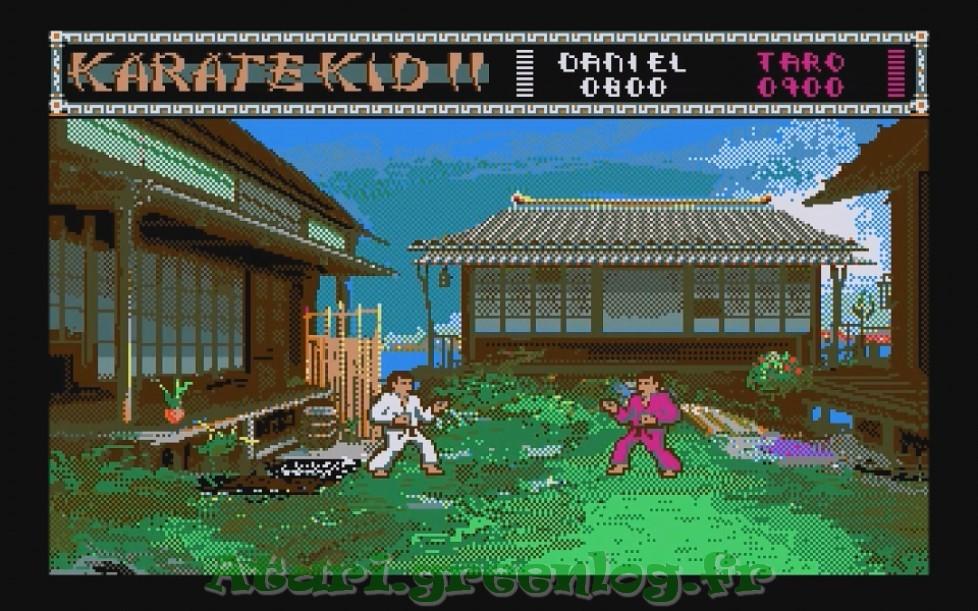 Karate Kid Part 2 : Impression d'écran 5