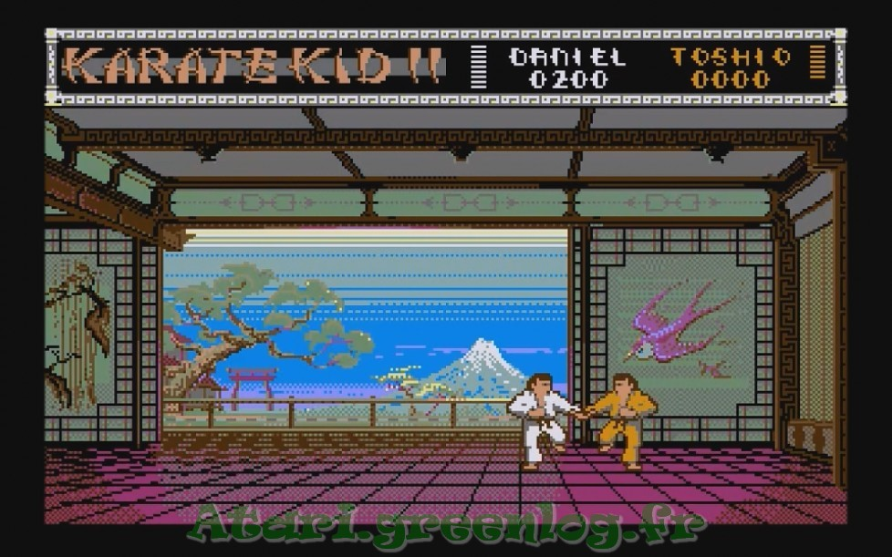 Karate Kid Part 2 : Impression d'écran 6