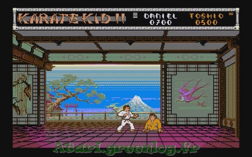 Karate Kid Part 2 : Impression d'écran 7