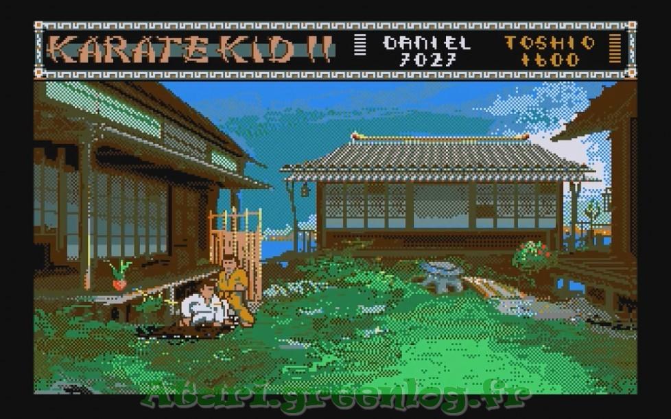 Karate Kid Part 2 : Impression d'écran 17
