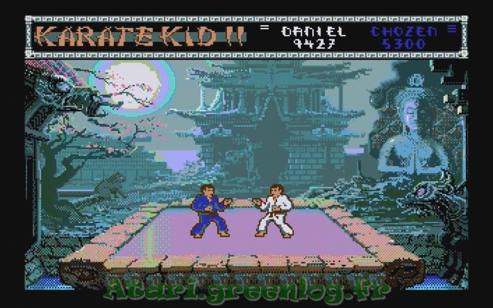 Karate Kid Part 2 : Impression d'écran 19