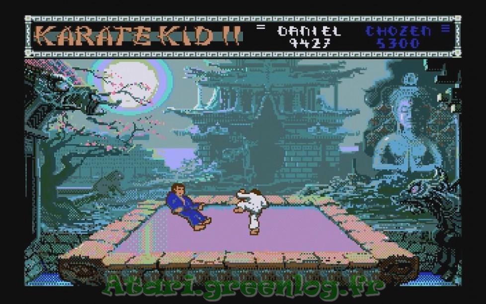 Karate Kid Part 2 : Impression d'écran 20