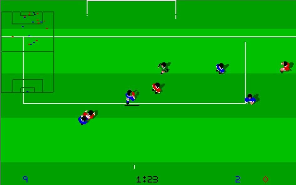 Kick Off : Impression d'écran 13