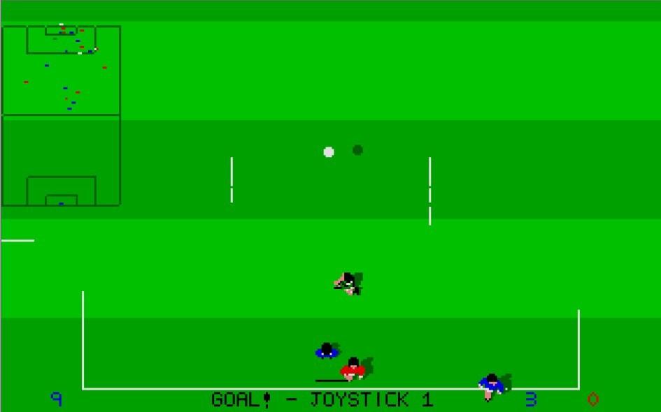 Kick Off : Impression d'écran 14