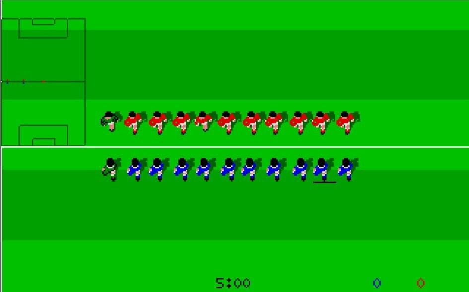 Kick Off : Impression d'écran 6