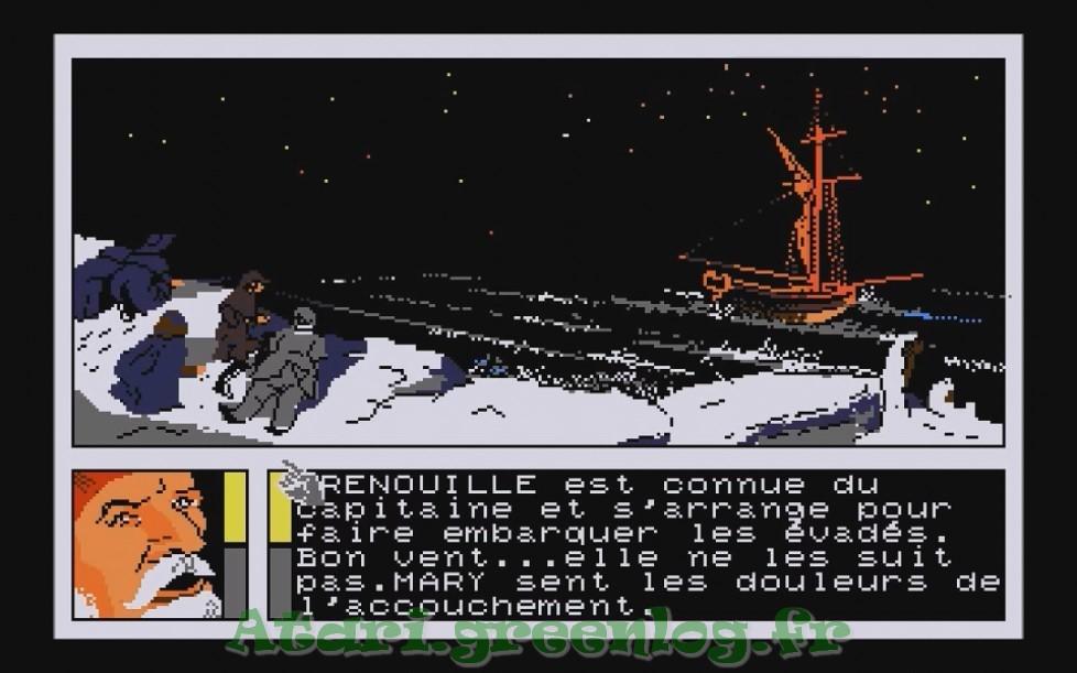Les Passagers Du Vent : Impression d'écran 8