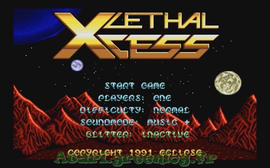 Lethal Xcess : Impression d'écran 5