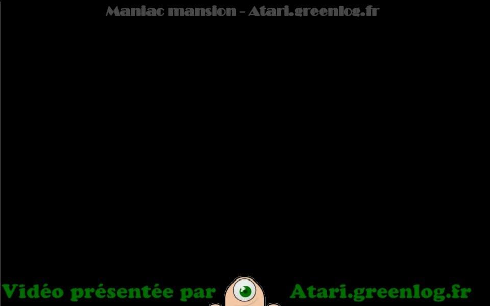Maniac Mansion : Impression d'écran 1