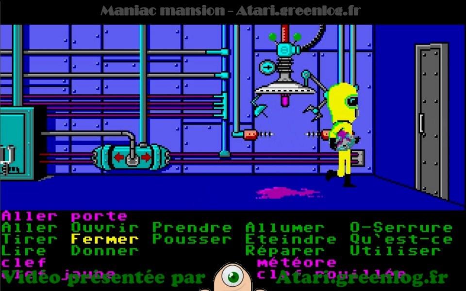 Maniac Mansion : Impression d'écran 15