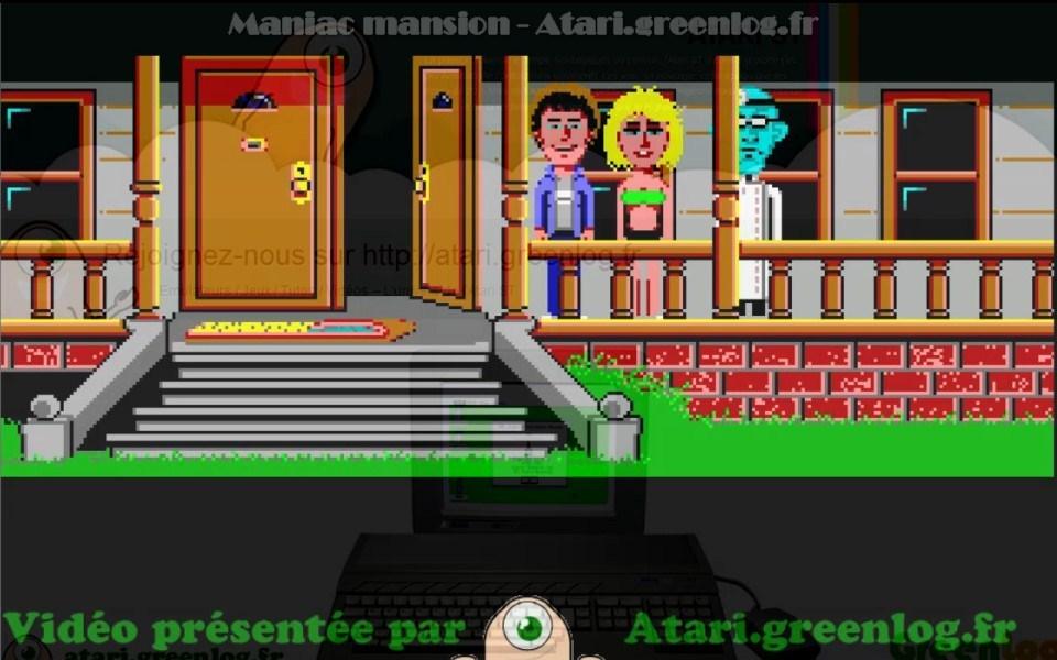 Maniac Mansion : Impression d'écran 20
