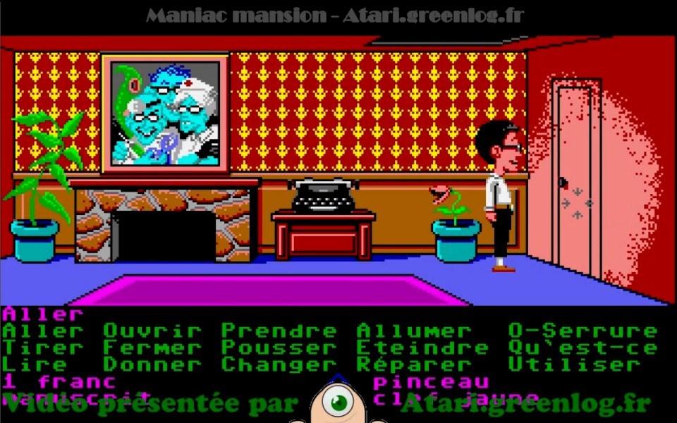 Maniac Mansion : Impression d'écran 21