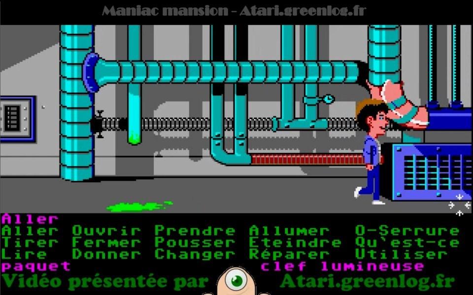Maniac Mansion : Impression d'écran 23