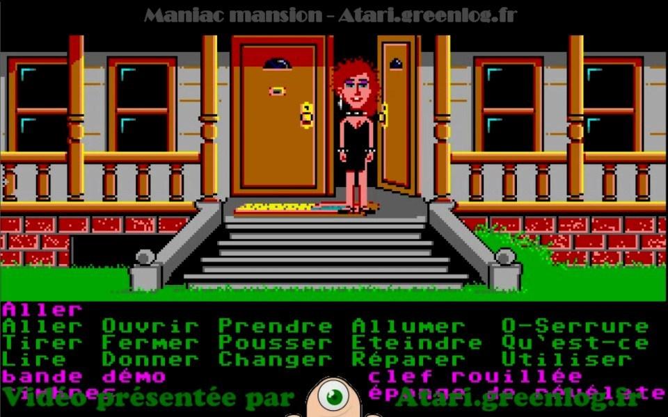 Maniac Mansion : Impression d'écran 25