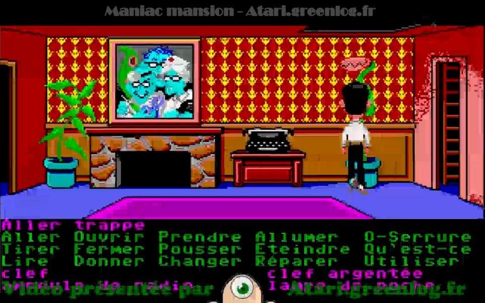 Maniac Mansion : Impression d'écran 27