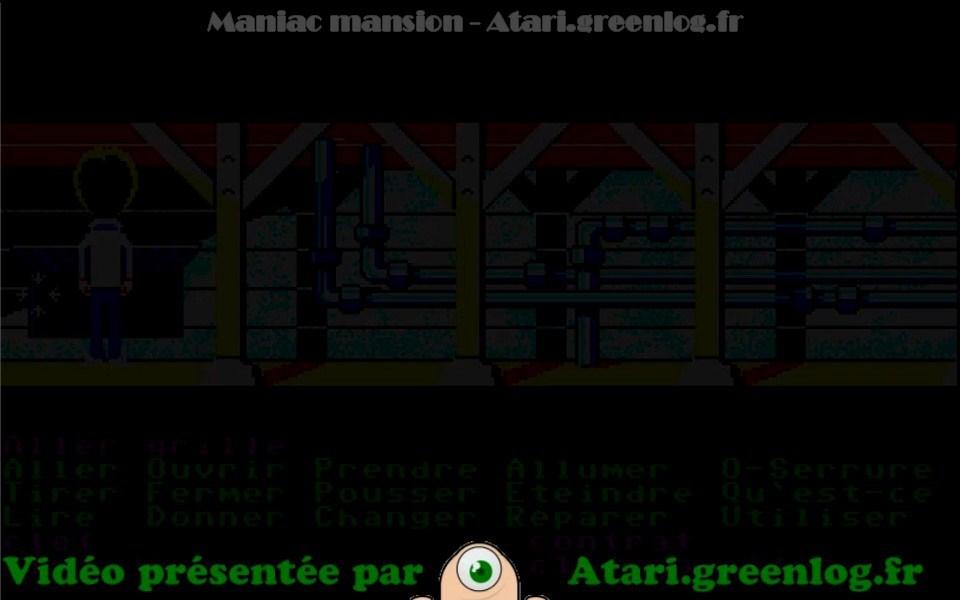 Maniac Mansion : Impression d'écran 3
