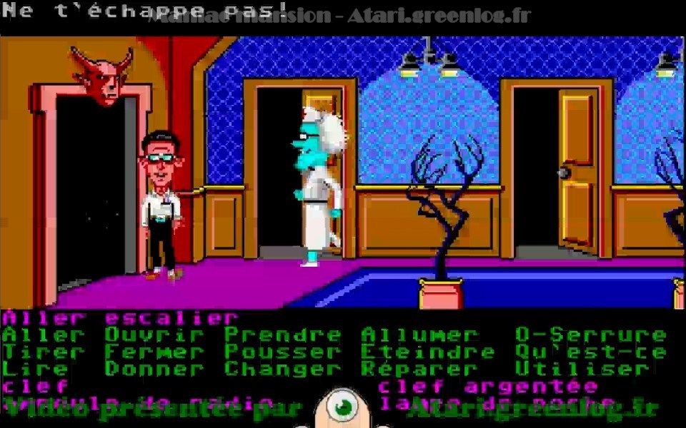 Maniac Mansion : Impression d'écran 31